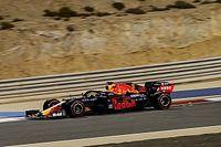 Verstappen toont spierballen in laatste training Sakhir GP