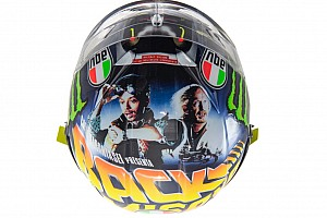 GALERI: Helm anyar Rossi untuk balapan Misano