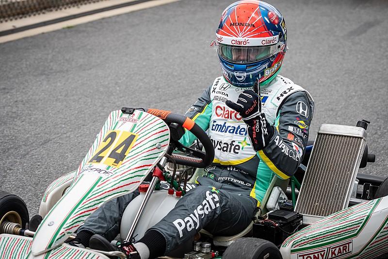 Pietro Fittipaldi testa kart e anuncia volta às pistas