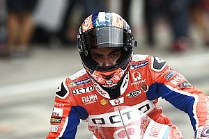 MotoGP Practice report Misano MotoGP: Petrucci tops FP2 as Marquez crashes