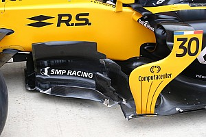 Formule 1 Diaporama Bilan technique - Les évolutions de la Renault R.S.17