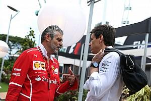 Формула 1 Комментарий Вольф выразил сочувствие Ferrari после гонки в Сингапуре