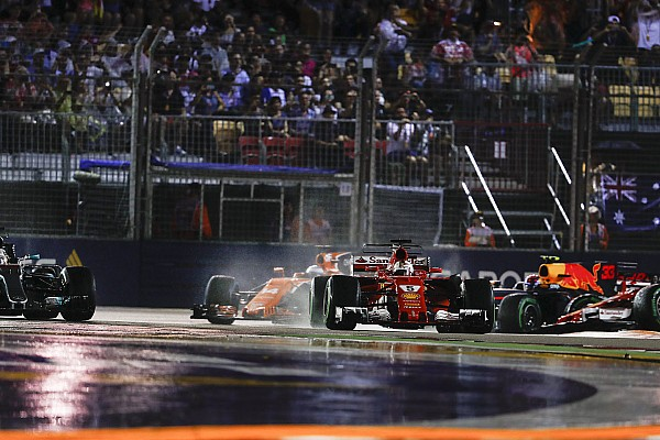 Nach F1-Singapur-Drama: Alonso schlug ein Loch in die Wand