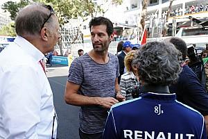 Formula E Entrevista Webber:
