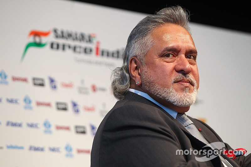 Force India boss Mallya arrested in London