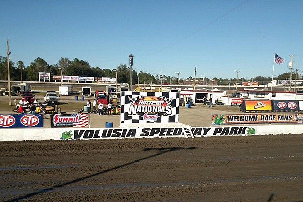World of Outlaws Three injured after car goes into stands at Volusia Speedway Park