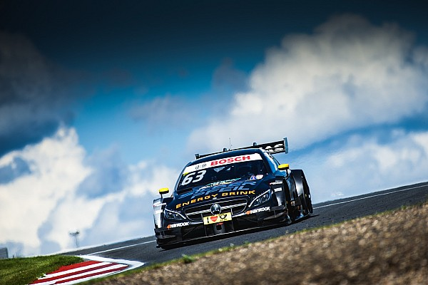 DTM Moscow DTM: Engel takes shock maiden win in frantic race