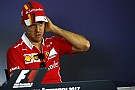 Vettel, Hamilton'dan kısa mesaj yoluyla özür dilemiş