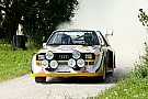 Historisch Bildergalerie: Die legendären Rallyeautos der Gruppe B in Saalfelden