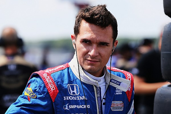 IndyCar's Aleshin returns to WEC for rest of season