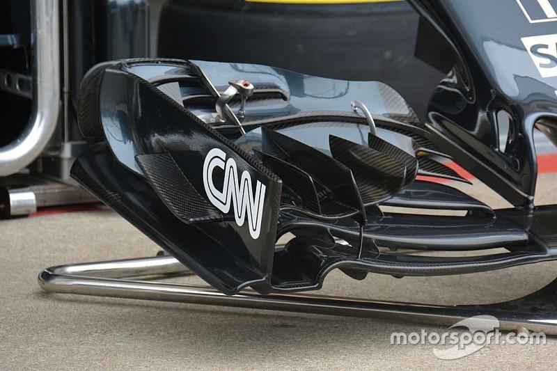 McLaren: sull'ala anteriore di Alonso c'è un flap arcuato