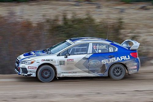 Antoine L'Estage gives Subaru victory at Rally of the Tall Pines
