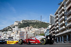 FIA F2 Practice report Monaco F2: De Vries dominates practice after Norris clash