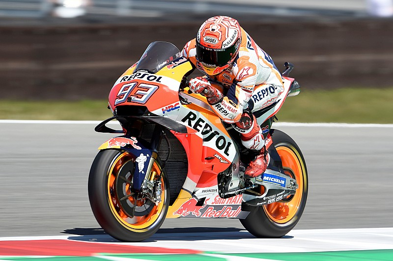MotoGP Assen FP3: Fünf Fahrer in einer Zehntelsekunde