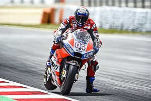 MotoGP Verslag vrije training Dovizioso aan kop in derde training, Marquez richting Q1 na crash
