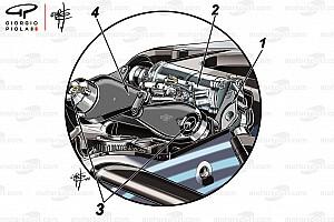 Fórmula 1 Análisis Análisis técnico: los secretos detrás de la suspensión delantera de Mercedes