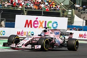 Patrocinadores querem mudança de nome na Force India em 2018