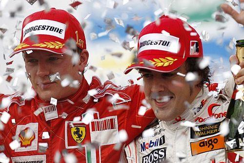 Brasil 2007: Raikkonen, héroe de Ferrari frente a Alonso y Hamilton