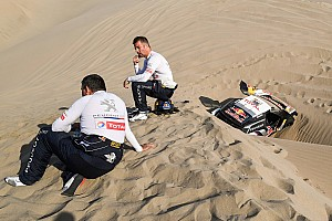 Dakar 速報ニュース 深い砂の餌食になったローブ「ダカールで勝つ最後のチャンスを失った」