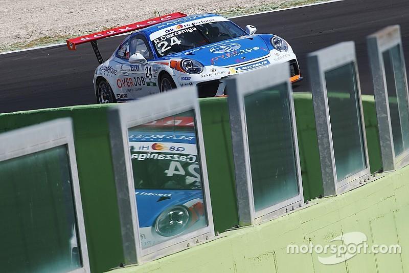 Carrera Cup Italia, Vallelunga: primo centro per Cazzaniga jr. in gara 2!