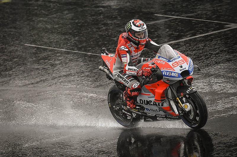 MotoGP Britanya: Yarış iptal edildi!