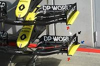 Renault: ecco la nuova ala anteriore della R.S.20