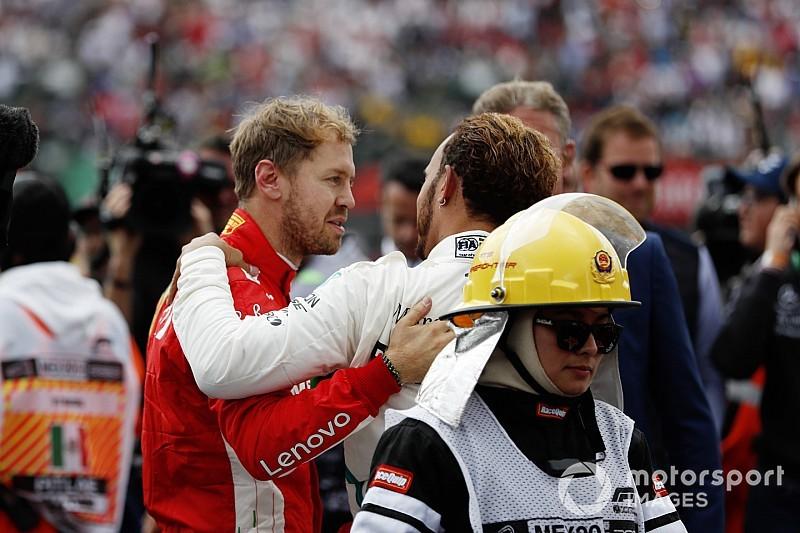 Vettel: Hamilton a été