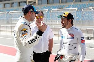 Alonso tras probar el NASCAR: