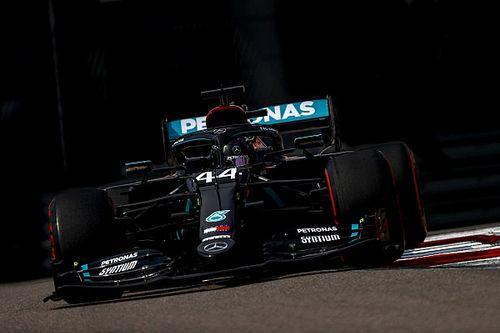 俄罗斯大奖赛排位赛:Q2惊吓难阻汉密尔顿摘杆位