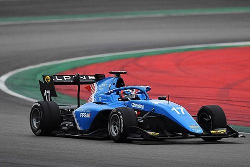 Martins se marcha de Barcelona con el mejor tiempo en el test de F3