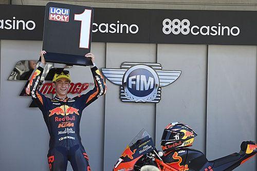 Pagari Acosta, KTM Garansi Posisi di Moto2