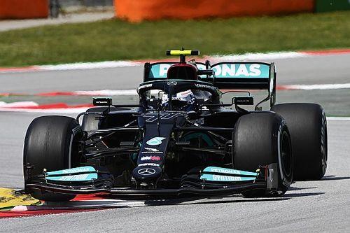 Bottas nipt sneller dan Verstappen in eerste training Spanje