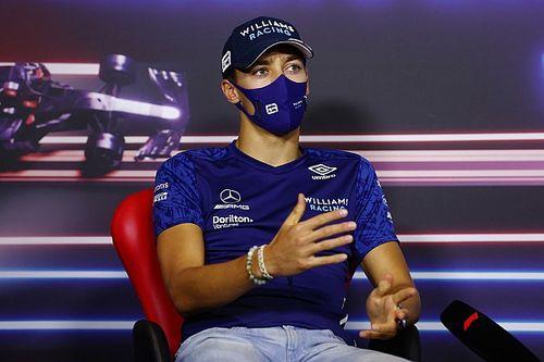 """Russell: """"Nessuna malizia nel tentativo di sorpasso di Lewis"""""""
