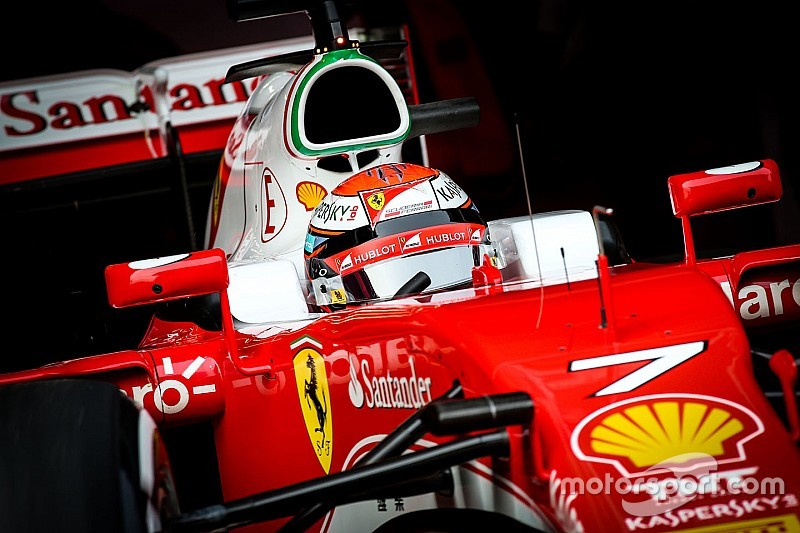 "Raikkonen: New Ferrari ""already better"" than 2015 car"