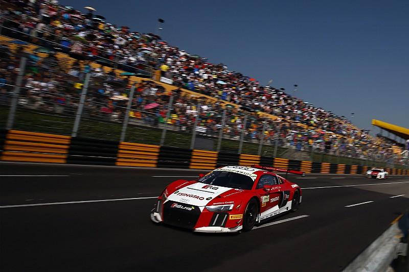 奥迪R8 LMS杯车手即将出征澳门格兰披治大赛车