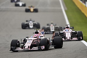 Formula 1 Breaking news Ocon says Perez put their lives at risk with collision