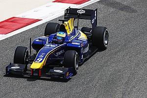 FIA F2 Practice report F2 Bahrain: Rowland puncaki latihan perdana, Gelael P14