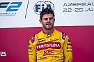FIA F2 F2 Baku: Nato juara sprint race, Gelael masih belum cetak poin