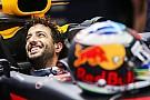 Ricciardo s'inspire de la combativité de Rossi face aux jeunes