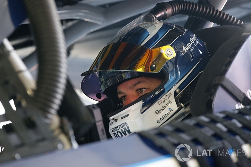 Stage 2: Truex snatches lead from Larson after heated battle
