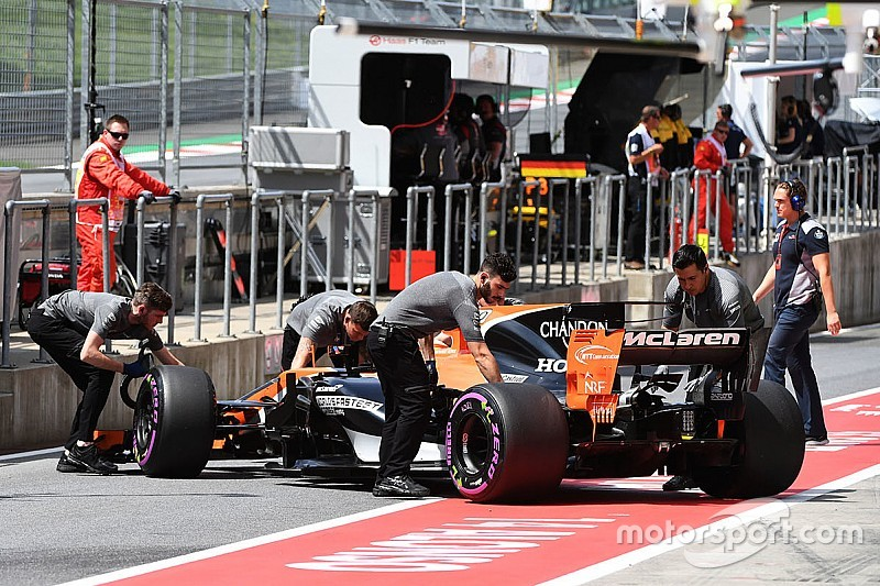 F1 2017 in Silverstone: Fernando Alonso nutzt wieder neuen Honda-Motor