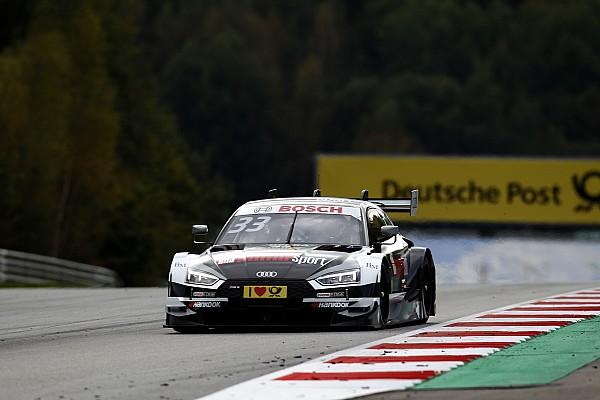 DTM Сход Грина позволил Расту выиграть вторую гонку DTM в Австрии