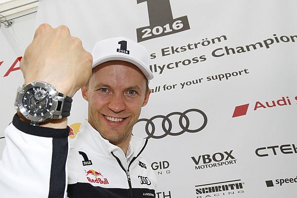 World Rallycross Almanya WRX: 2016 Dünya Rallikros Şampiyonu Mattias Ekström!