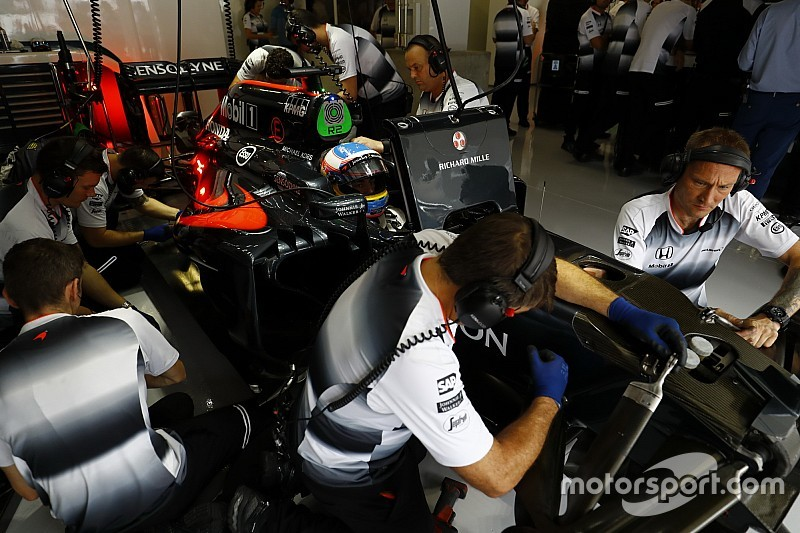 F1 teams still pushing for standard parts, says Brown