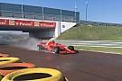 Formula 1 Giovinazzi, SF71H ile ıslak zemin testini başarıyla tamamladı