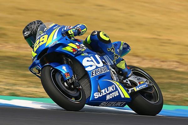 MotoGP 速報ニュース リンス&イアンノーネ、転倒を喫したもののスズキの最新エアロを高評価
