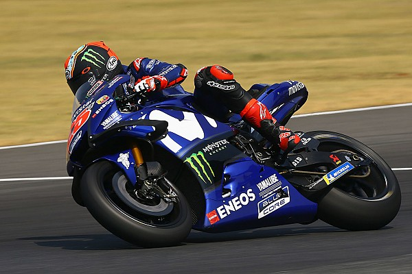 MotoGP Breaking news Vinales reveals issue with 2018 Yamaha bike