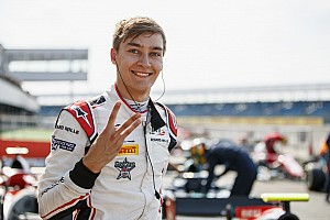 FIA F2 Qualifying report Silverstone F2: Russell takes third straight pole