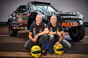 Dakar News Tim und Tom Coronel: Rallye Dakar 2018 in einem Auto