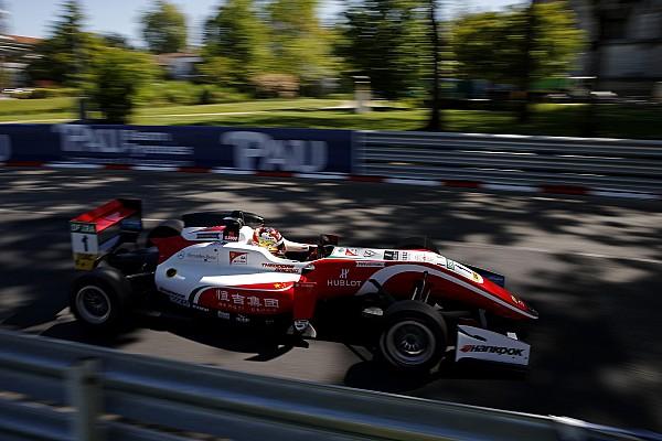 F3 Europe Race report Pau F3: Ferrari junior Zhou takes first win in 2018 opener